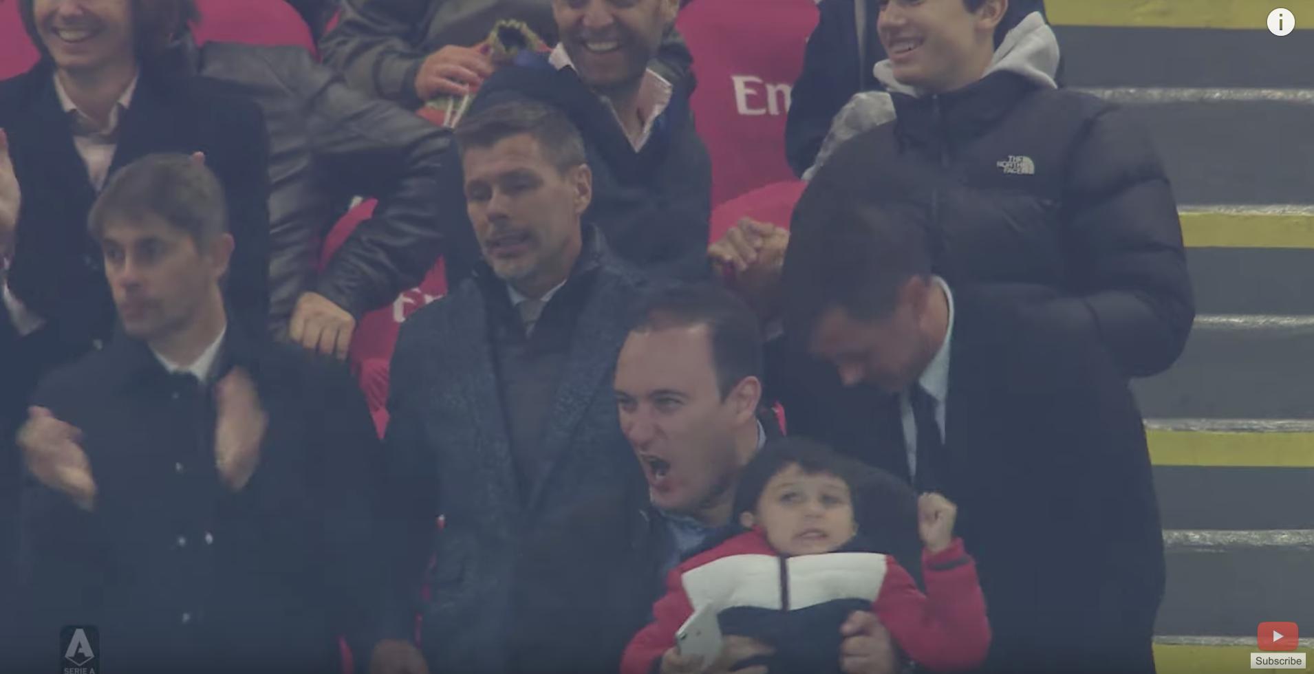 WATCH: Sports Secretary Clifton Grima Celebrates Milan Goal Of Maldini